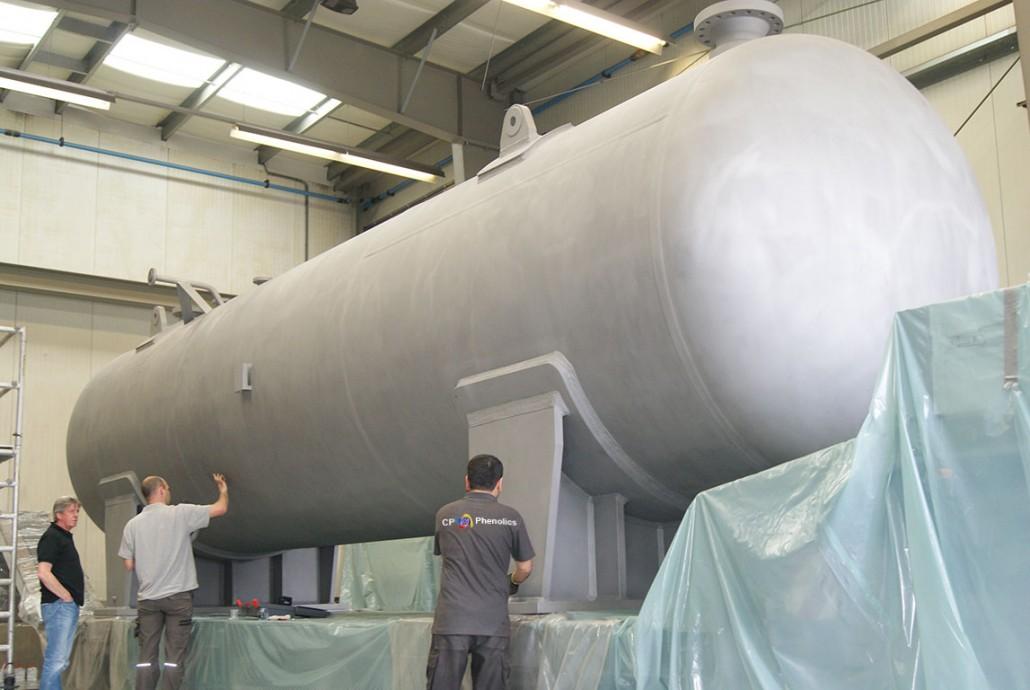 48ton pressure vessel