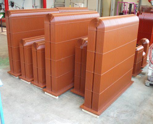 Schiffskühler mit Thermische Beschichtung